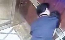 Vụ sàm sỡ bé gái trong thang máy: đủ yếu tố thành tội dâm ô với người dưới 16 tuổi