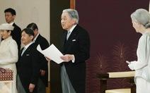 Nhật hoàng Akihito chính thức tuyên bố thoái vị, trở thành thượng hoàng