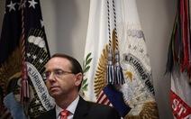 Thứ trưởng Bộ Tư pháp Mỹ từ chức