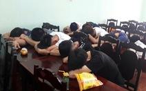 71 thanh niên trong quán karaoke dương tính với chất ma túy