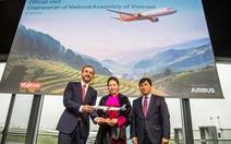 Vietjet nhận bàn giao máy bay thế hệ mới A321neo