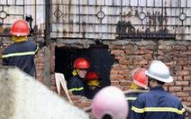 Cháy lớn trên đường Lạc Long Quân, Hà Nội