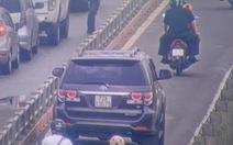 Xử lý nghiêm ôtô đi vào làn xe 2 bánh trên đường dẫn cao tốc TP.HCM - Long Thành