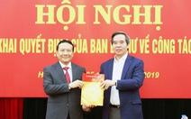 Phó giám đốc ĐHQG Hà Nội làm phó trưởng Ban Kinh tế trung ương