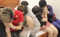 17 nam nữ tuổi đôi mươi phê ma túy trong đêm ở nhà nghỉ