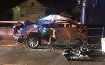 Xe con đấu đầu xe tải trên đường dẫn vào hầm Hải Vân, 2 người chết, 3 bị thương