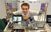 Valerio Pagliarino - người truyền tải Internet tốc độ cao bằng laser