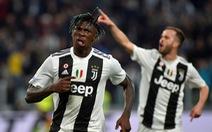Chân sút 19 tuổi Kean giúp Juventus tiến sát ngôi vô địch