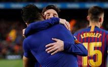 'Song sát' Messi - Suarez giúp Barca vất vả đánh bại 10 cầu thủ Atletico Madrid