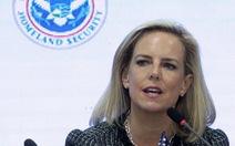 Bộ trưởng Bộ An ninh nội địa Mỹ Kirstjen Nielsen từ chức