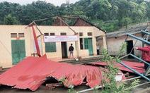 Lốc xoáy, mưa đá tốc mái 70 ngôi nhà ở Lào Cai