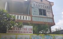 Cháy trường mầm non, sơ tán 120 trẻ giữa trưa