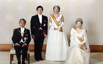 Tân Nhật hoàng Naruhito từng chờ đợi 6 năm để lấy được người mình yêu