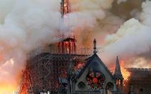 Pháp cảnh báo lượng bụi chì 'cực cao' quanh nhà thờ Đức Bà Paris
