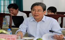 Phó chủ tịch tỉnh Sóc Trăng Lê Thành Trí xin nghỉ hưu sớm
