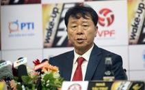 HLV Chung Hae Soung muốn VFF và VPF xem lại trận TP.HCM hòa Quảng Nam 1-1