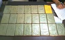 Giấu 22 bánh heroin trong lốc máy ôtô cũ vận chuyển về Việt Nam