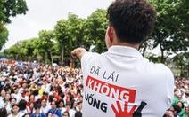 """Hàng ngàn người đi bộ cho thông điệp 'Đã uống rượu bia không lái xe"""""""