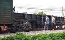 Tàu hỏa trật bánh tại Nam Định do bảo trì đường không đạt yêu cầu