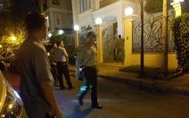 Video và hình ảnh khám xét nhà ông Tề Trí Dũng tối 14-5
