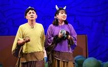 Những hình ảnh vui nhộn trong 'Truy tìm Thủy Long kiếm' của kịch Idecaf
