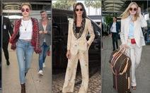 Thời trang sân bay của dàn sao đang 'ào ạt' tới Cannes