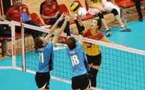 Đội VTV Bình Điền Long An vào bán kết Giải bóng chuyền nữ quốc tế