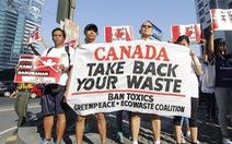 Philippines rút bớt quan chức ngoại giao để phản đối việc Canada không mang rác về
