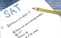 Kỳ thi SAT sẽ chấm điểm hoàn cảnh của thí sinh