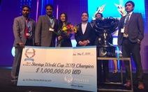 Startup Việt lần đầu giành giải thưởng triệu đô ở đấu trường quốc tế