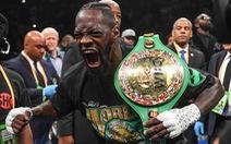 Wilder chỉ mất 123 giây để bảo vệ thành công đai vô địch WBC