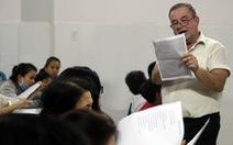 Lớp học tiếng Anh miễn phí trong chùa