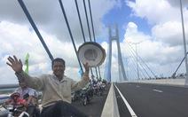 Dân chờ cả đời nay được đặt chân lên cầu Vàm Cống