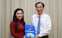 Bà Võ Thị Ngọc Thúy làm phó giám đốc Sở Du lịch TP.HCM
