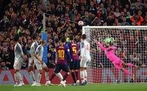 Messi cảm thấy 'may mắn' khi cú đá phạt trúng đích
