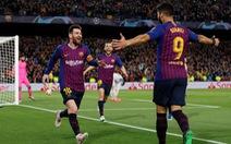 'Song sát' Messi  - Suarez hành hạ Liverpool