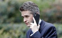 Bộ trưởng Quốc phòng Anh bị sa thải vì rò rỉ thông tin về Huawei