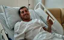 Casillas có thể giải nghệ sau khi bị đau tim trên sân tập