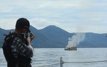 Báo Hong Kong: Indonesia sắp đánh chìm 38 tàu cá 'mang cờ Việt Nam'
