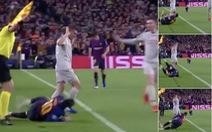Khoảnh khắc Messi 'lăn lộn 3 vòng' bị chỉ trích là... 'đóng kịch' giống Neymar !