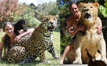 Chàng trai sống chung với 67 con hổ, sư tử, báo đốm... y hệt Tarzan