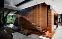 Có nên lát cầu thang bằng gỗ công nghiệp?