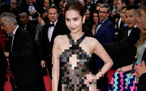 Cấp bộ nói gì về chuyện 'Ngọc Trinh mặc phản cảm ở Cannes'?