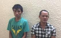 Bắt nhóm chuyên cướp giật trước cửa ngân hàng ở Hà Nội