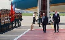 LB Nga tổ chức lễ đón chính thức Thủ tướng Nguyễn Xuân Phúc