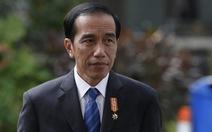 Ông Joko Widodo tái đắc cử tổng thống Indonesia với 55,5% phiếu bầu