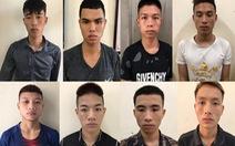 Bắt 8 thanh niên gây 6 vụ cướp tài sản trên Đại lộ Thăng Long