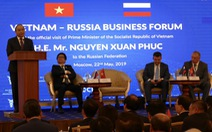 Phấn đấu kim ngạch Việt - Nga 10 tỉ USD vào năm 2020