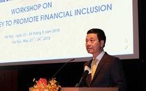 Bộ trưởng muốn có 'tiền di động' Mobile Money năm 2019