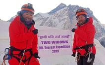 Hai góa phụ chinh phục Everest để truyền cảm hứng sống